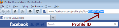 Facebook trick: how to find Facebook profile id