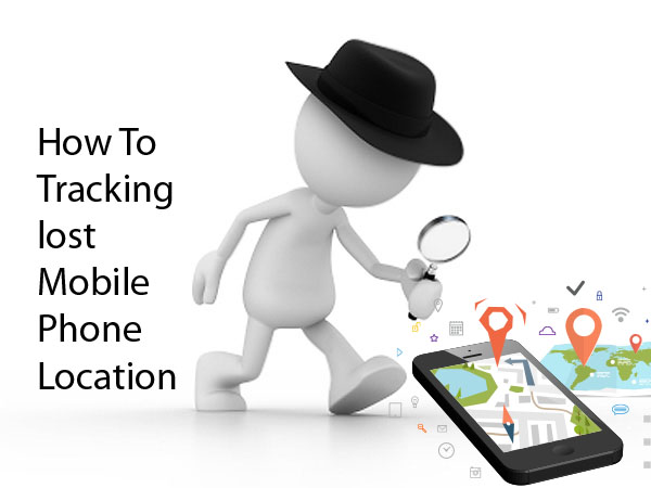 Three ways how to get lost mobile location