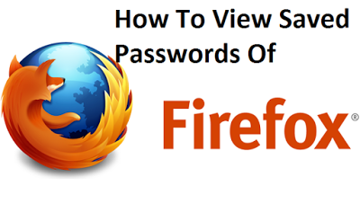 Hacking trick: how to see saved password in Firefox browser
